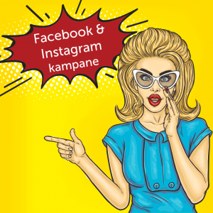 Facebook a Instagram kampane